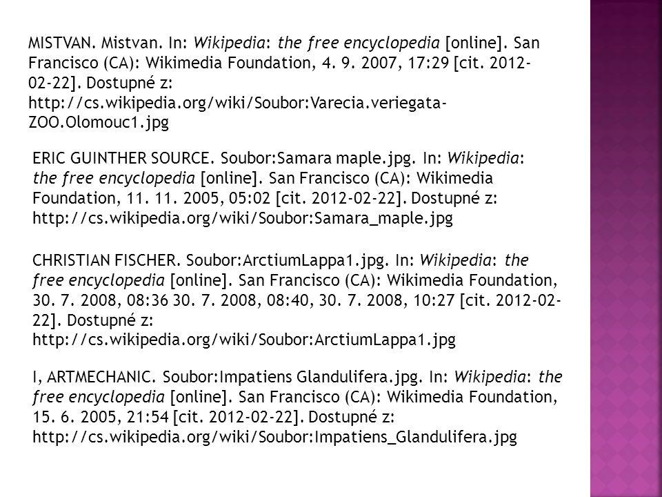MISTVAN. Mistvan. In: Wikipedia: the free encyclopedia [online]